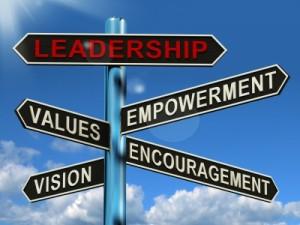 Leadership sign